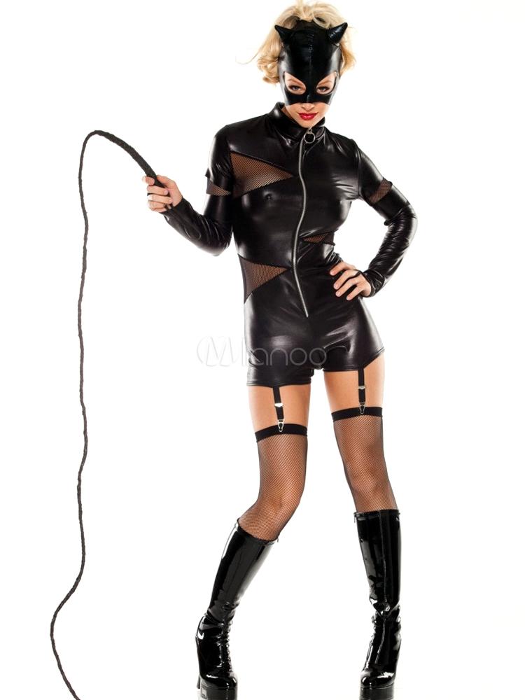 karneval cool catwoman kostum fur halloween no 1