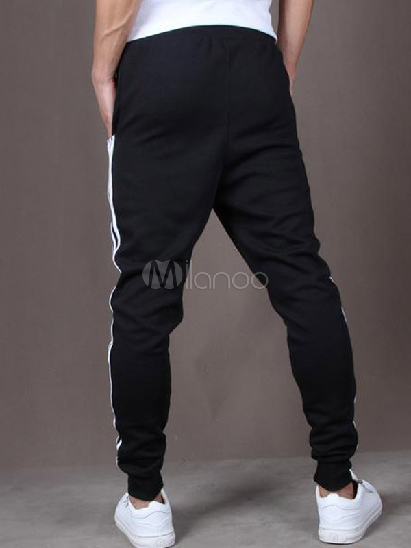 cotton flax for running fashion men 39 s athletic pants. Black Bedroom Furniture Sets. Home Design Ideas