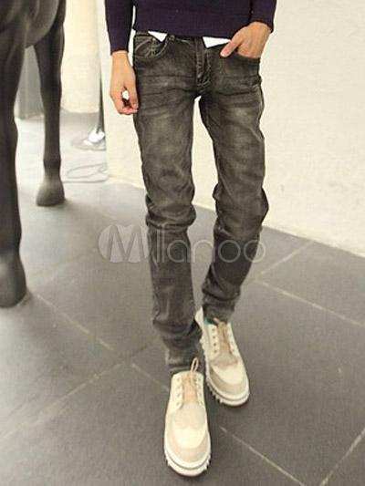 Schwarz graue jeans herren