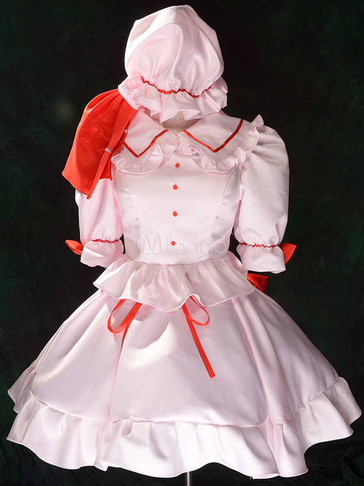 Touhou Project Remilia Scarlet Cosplay Costume  Halloween