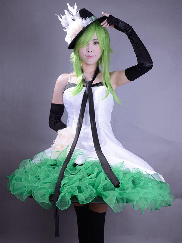 VOCALOID Gumi Cosplay Costume  Halloween