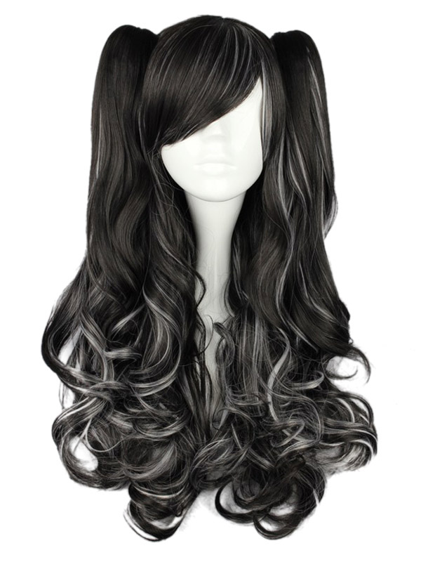 Buy Long Curly Dandy Multi Color Rayon Lolita Wig for $53.99 in Milanoo store