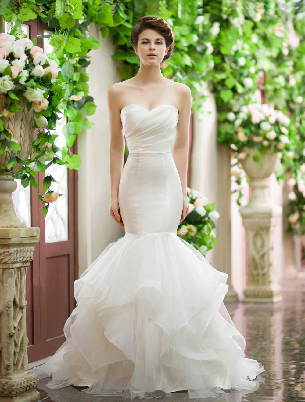 Milanoo / Sweetheart Mermaid Wedding Dress