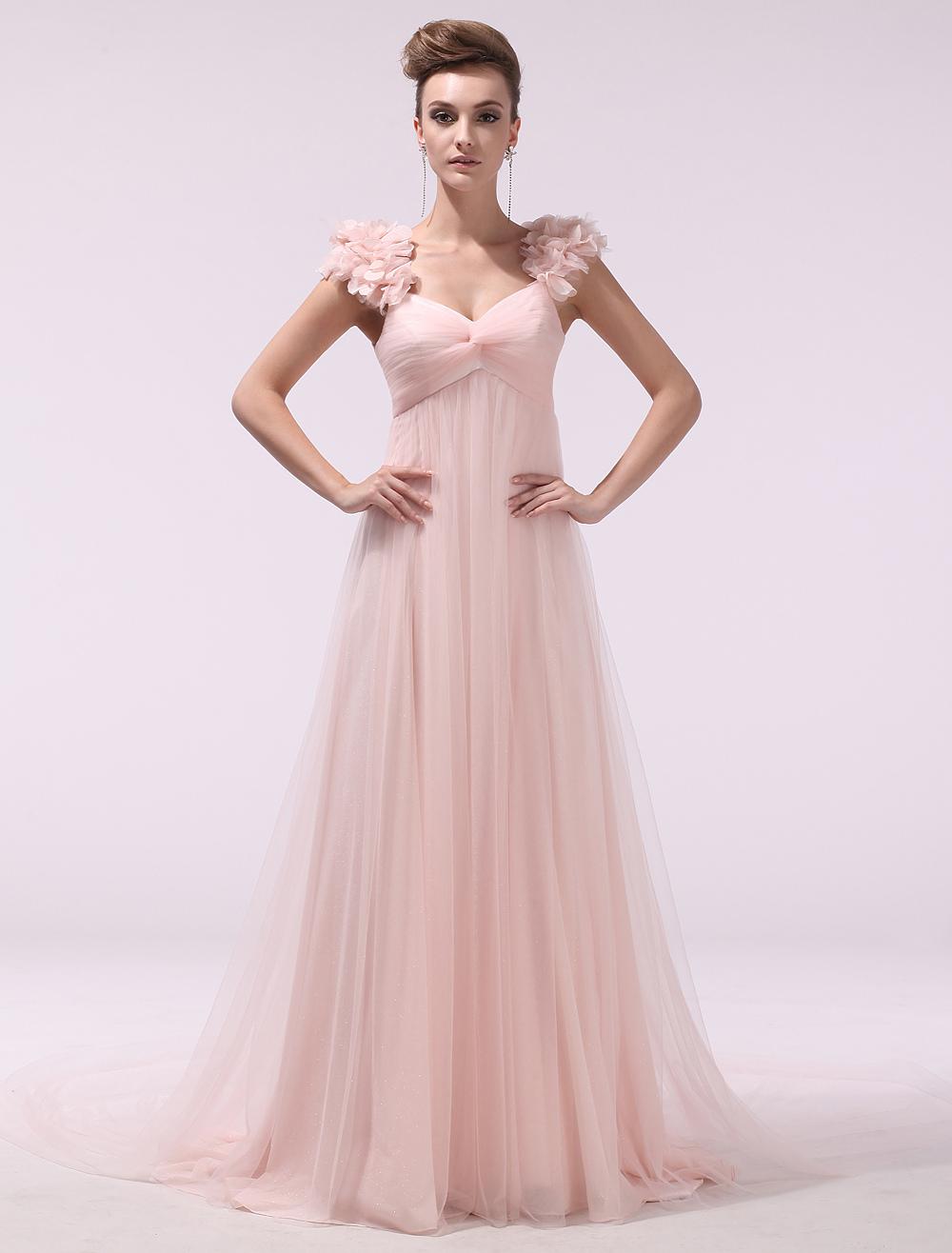 0a2f69e171 vestido de dama de honor rosa