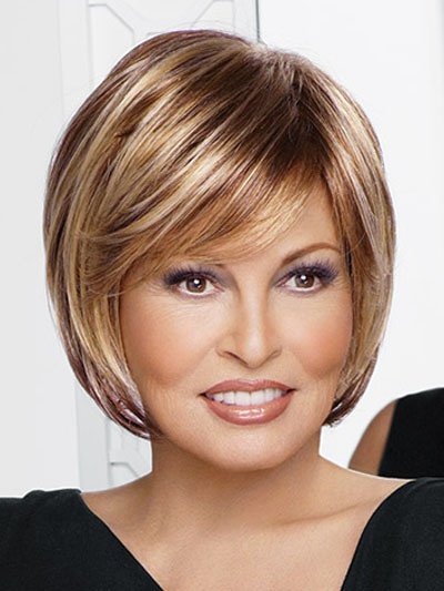 Flaxen Heat-resistant Fiber Popular Woman's Short Wig