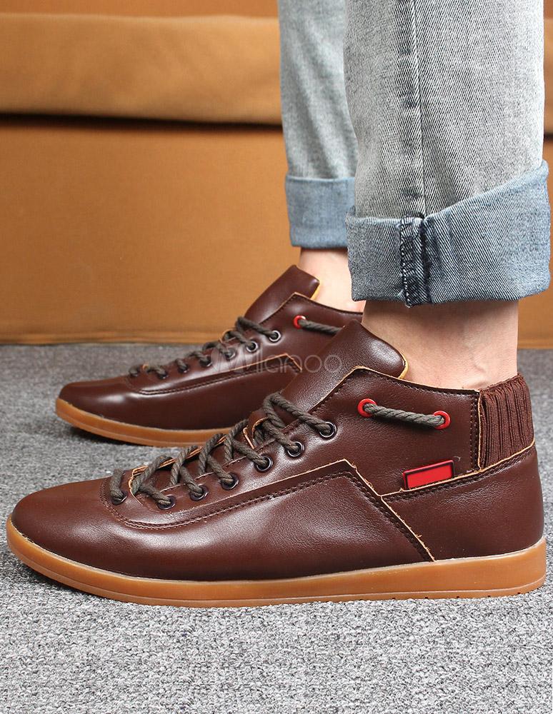 redondo y marrón pies