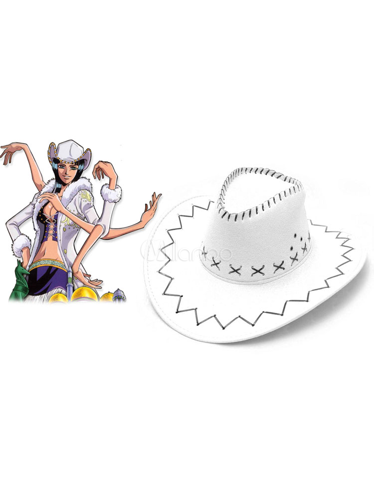 Buy One Piece Nico Robin Cosplay Hat Halloween for $10.11 in Milanoo store