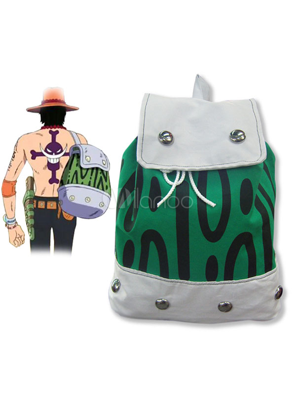 Buy One Piece Ace Cosplay Backpack Portgas D Ace Cosplay Costume Halloween for $20.99 in Milanoo store