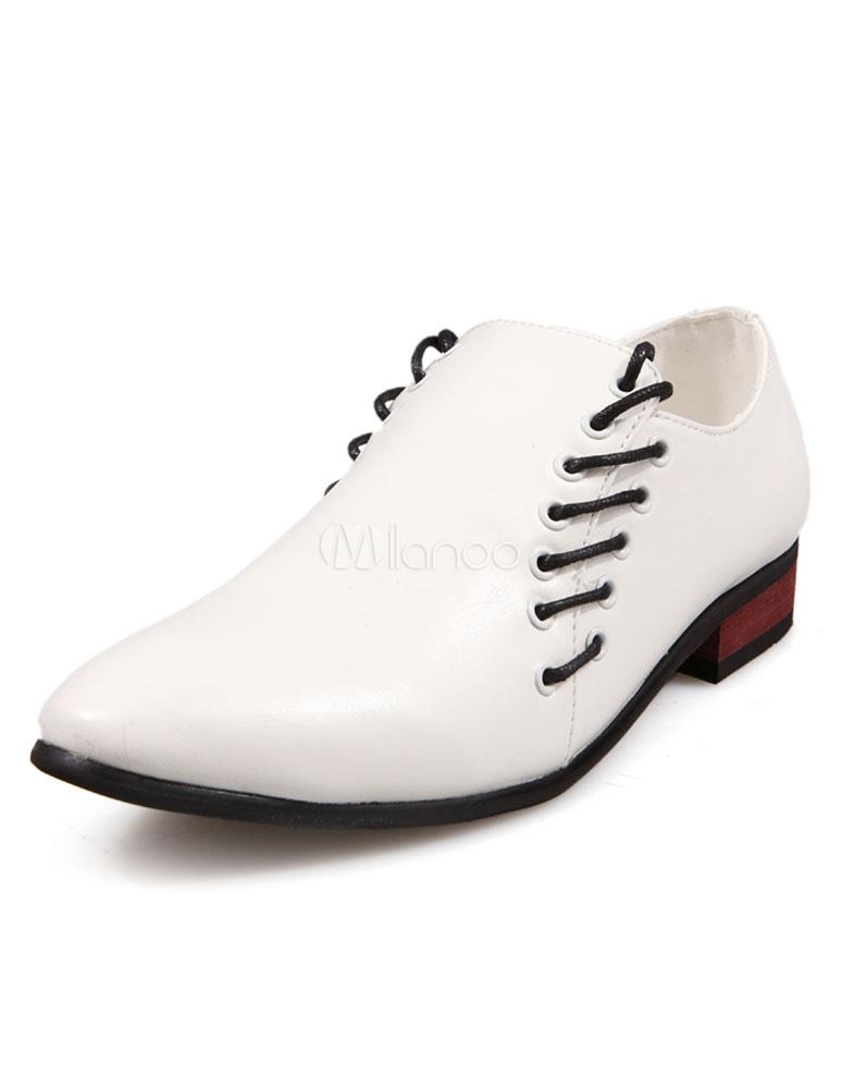 Zapatos blancos casual para hombre FxbKW7Cx3