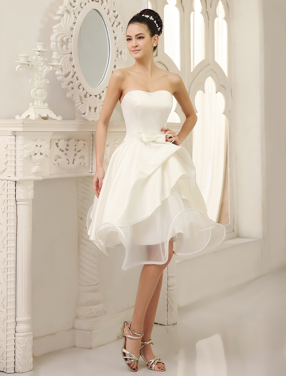 Robes De Mariée Courtes Milanoocom