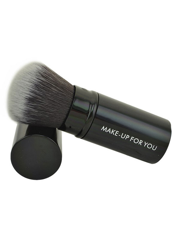 Quality Black 1 Piece Easily Applied Makeup Brush Cheap clothes, free shipping worldwide