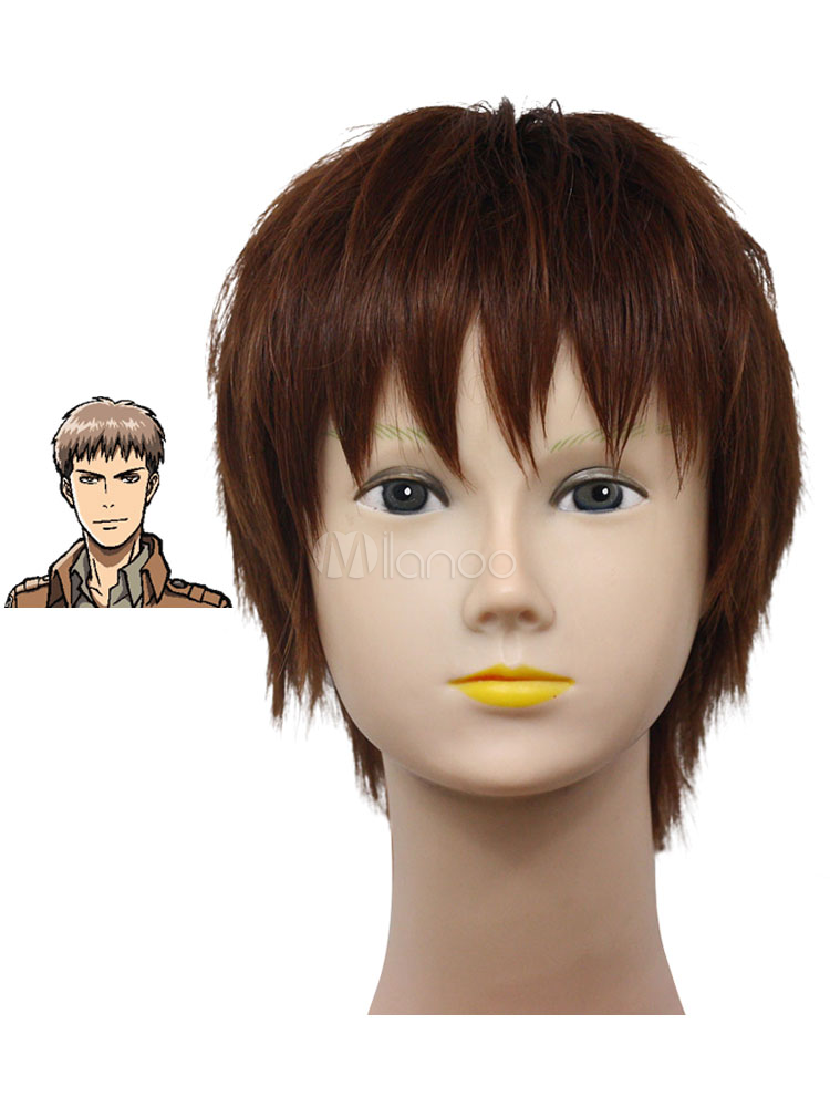 Buy Great Attack on Titan Heat Resistant Fiber Cosplay Wig Halloween for $16.19 in Milanoo store