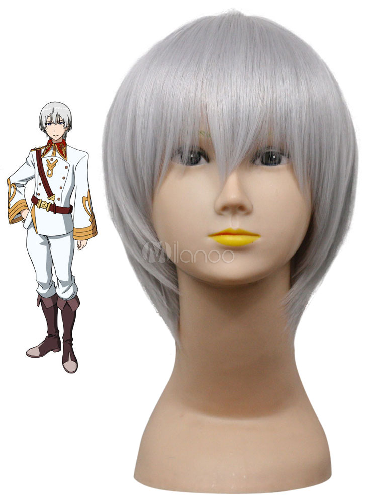 Buy Valvrave the Liberator L-Elf Karlstein Heat Resistant Fiber Cosplay Wig Halloween for $14.39 in Milanoo store