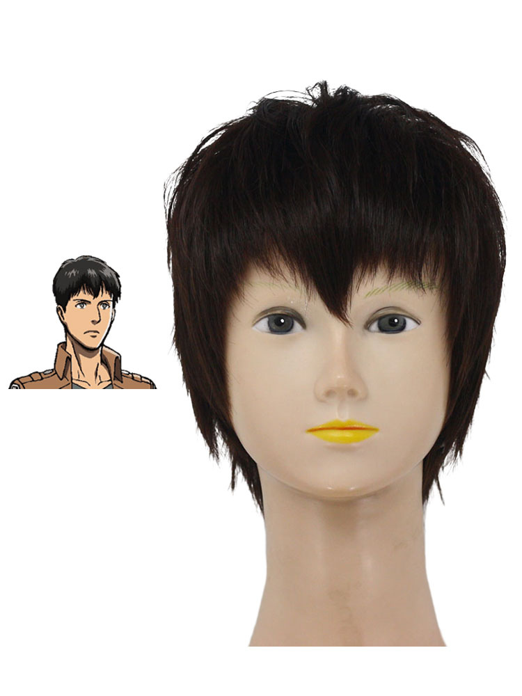 Buy Attack on Titan Shingeki no Kyojin Bertolt Hoover Halloween Cosplay Wig Halloween for $16.19 in Milanoo store