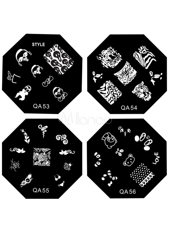 Tattoo Print Nail Image Stamp Plate Cheap clothes, free shipping worldwide