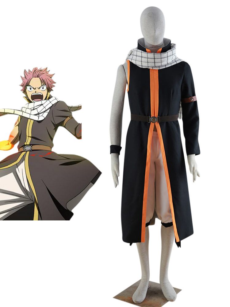 Fairy Tail Natsu Dragneel Halloween Cosplay Costume Halloween