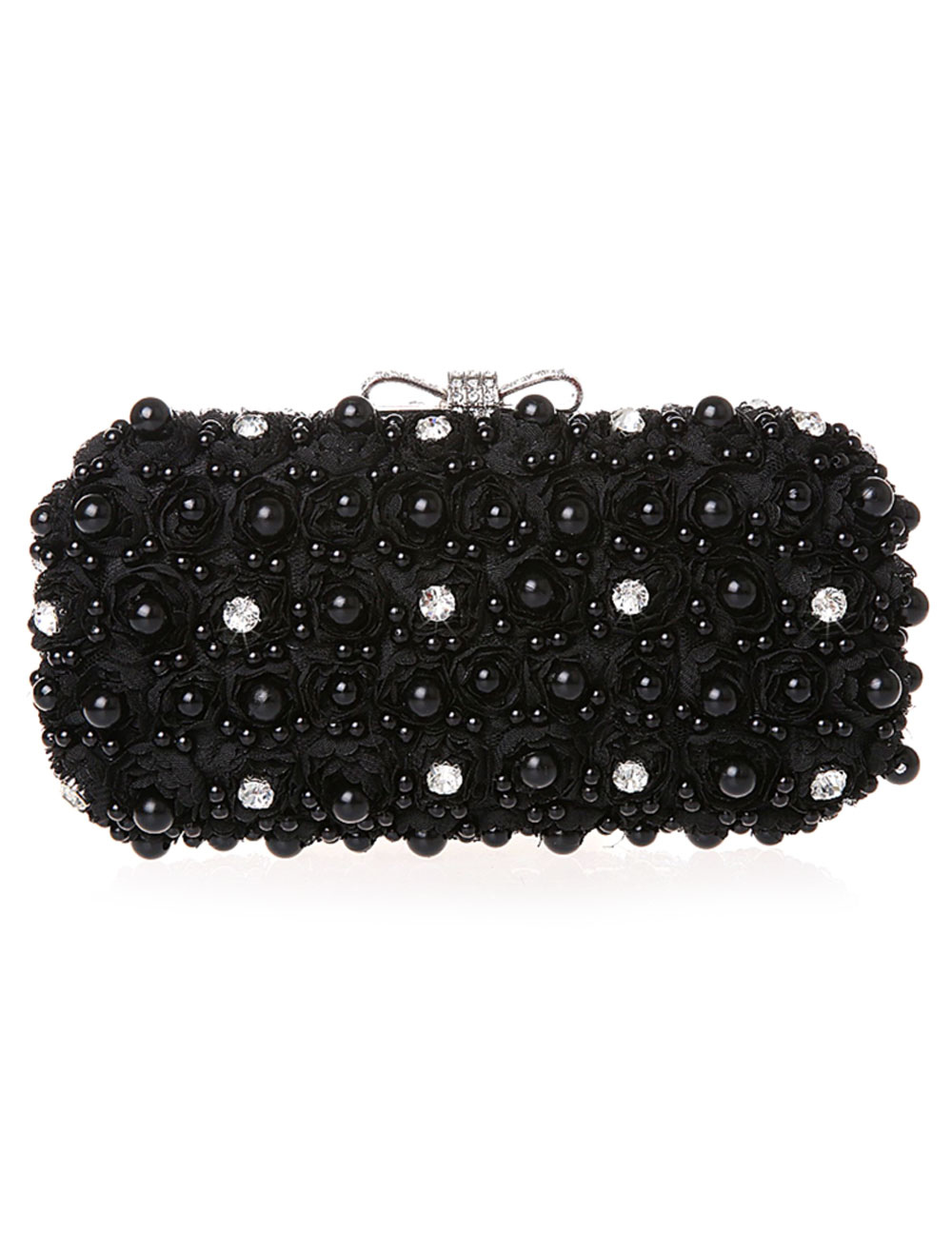 Charming Glitter Metal Evening Bag for Woman