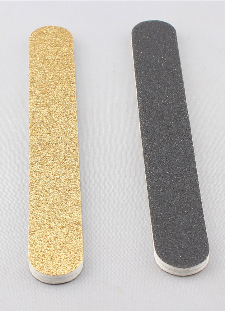Light Gold 2-Piece Resin Nail Files Cheap clothes, free shipping worldwide