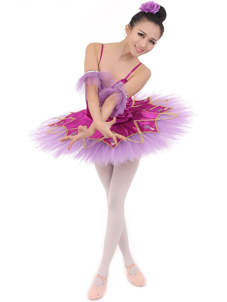 a59629e6a8 Vestido de ballet fucsia - Milanoo.com