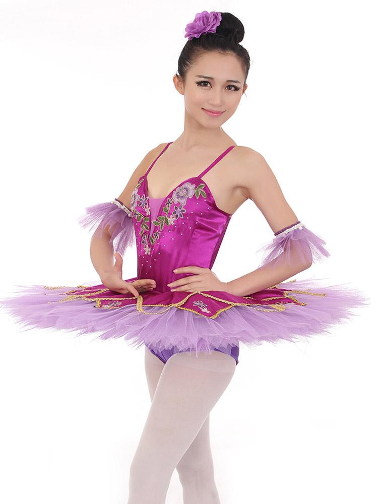Vestido de ballet fucsia - Milanoo.com