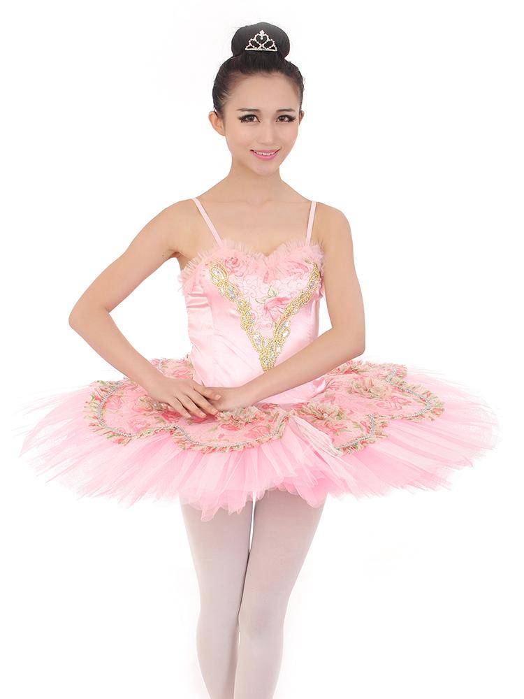 Lujoso Ballet Vestidos De Dama De Rosa Regalo - Ideas de Estilos de ...