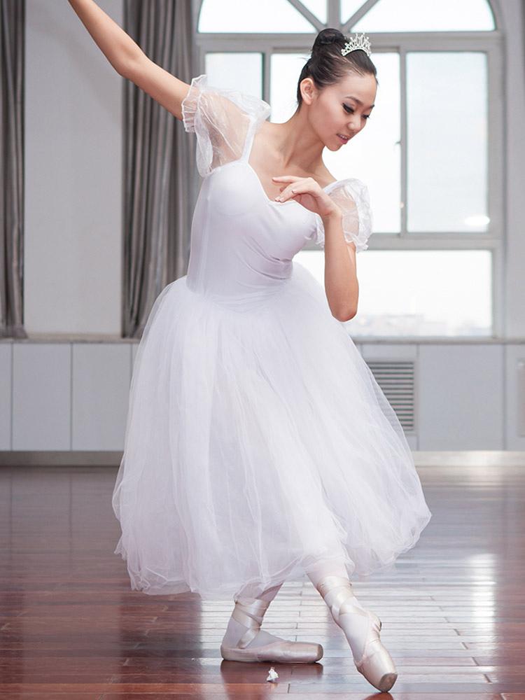 Vestido De Ballet Blanco