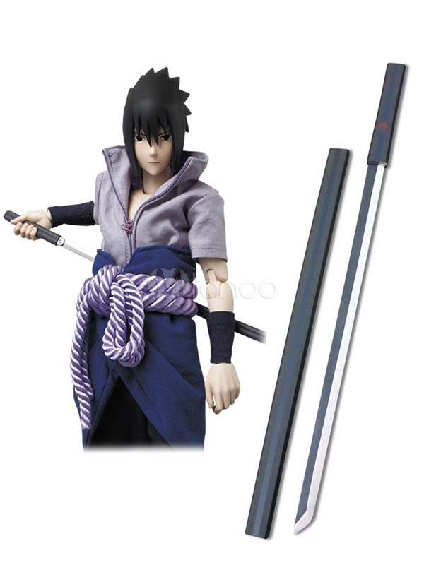 Naruto Uchiha Sasuke Black Kusanagi Cosplay Weapon Halloween