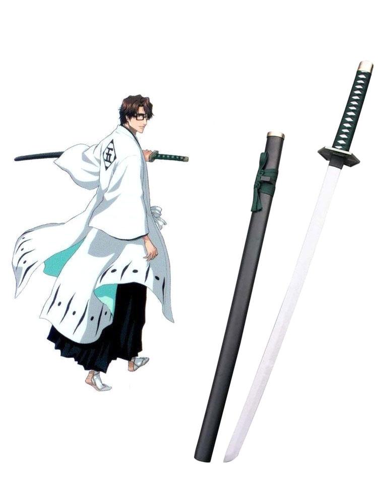 Bleach Aizen Sousuke Zanpakutou kyoukasuigetsu Cosplay Weapon Halloween
