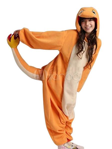 ... Kigurumi Pajamas 2019 Pokemon Charmander Onesie For Adult Fleece  Flannel Costume Halloween-No.2 ... aff073b8a