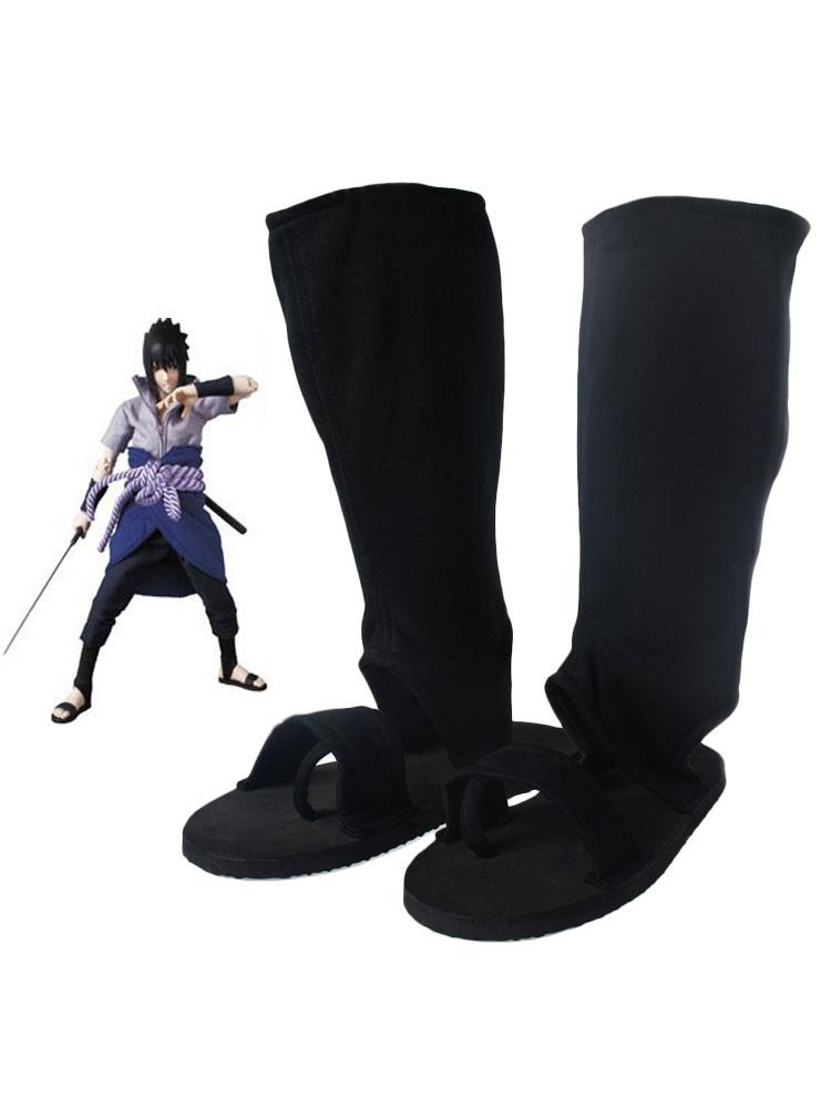 Buy Naruto Uchiha Sasuke Halloween Cosplay Shoes Halloween for $14.99 in Milanoo store