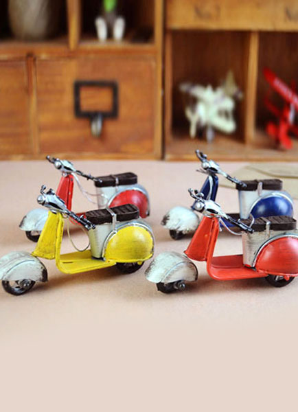 Retro Mini Motorcycle Creative Gift