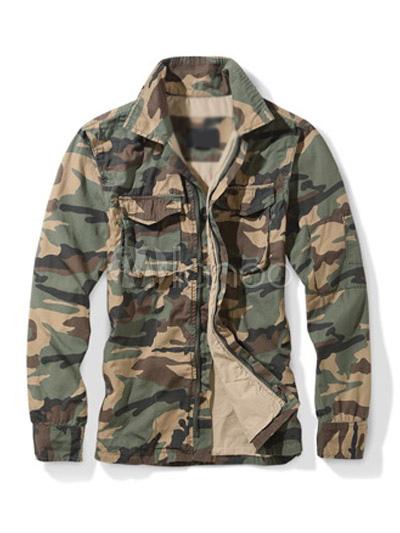 Herren jacke camouflage