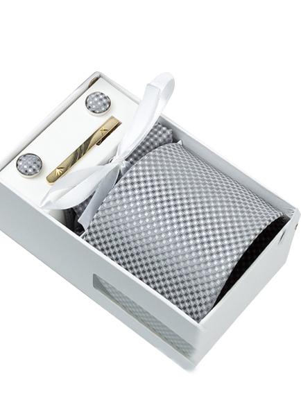 Modern Polyester Stripe Mens Dress Tie ( 6/Pack )