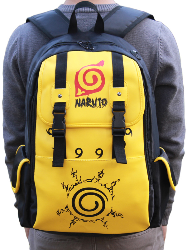Naruto Means Cool PU Leather Anime Bag  Halloween