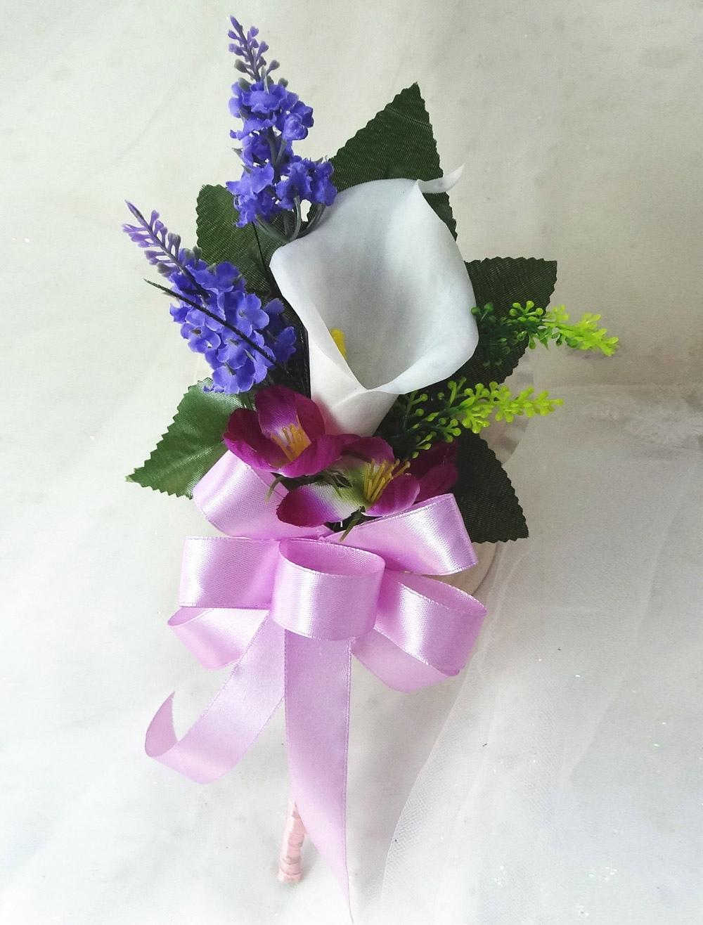Free-form Shape Silk Flower Wedding Flowers
