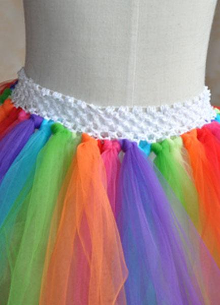 16f006a65 Vestido formal para niñas de tul con pliegues de estilo dulce
