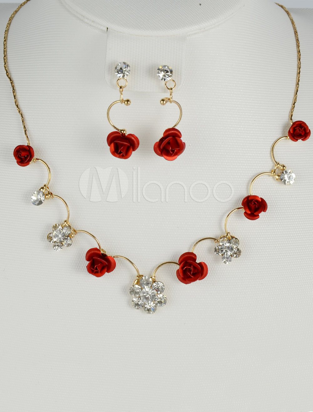 Attractive Resin Jewelry Set For Bridal