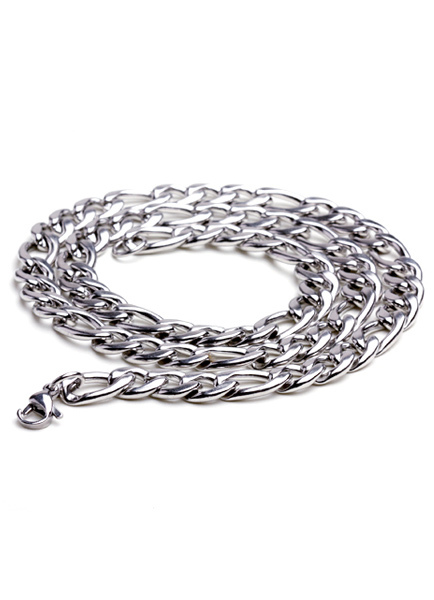 Fantastic Silver Lobster Claw Clasp Stainless Steel Necklace for Man