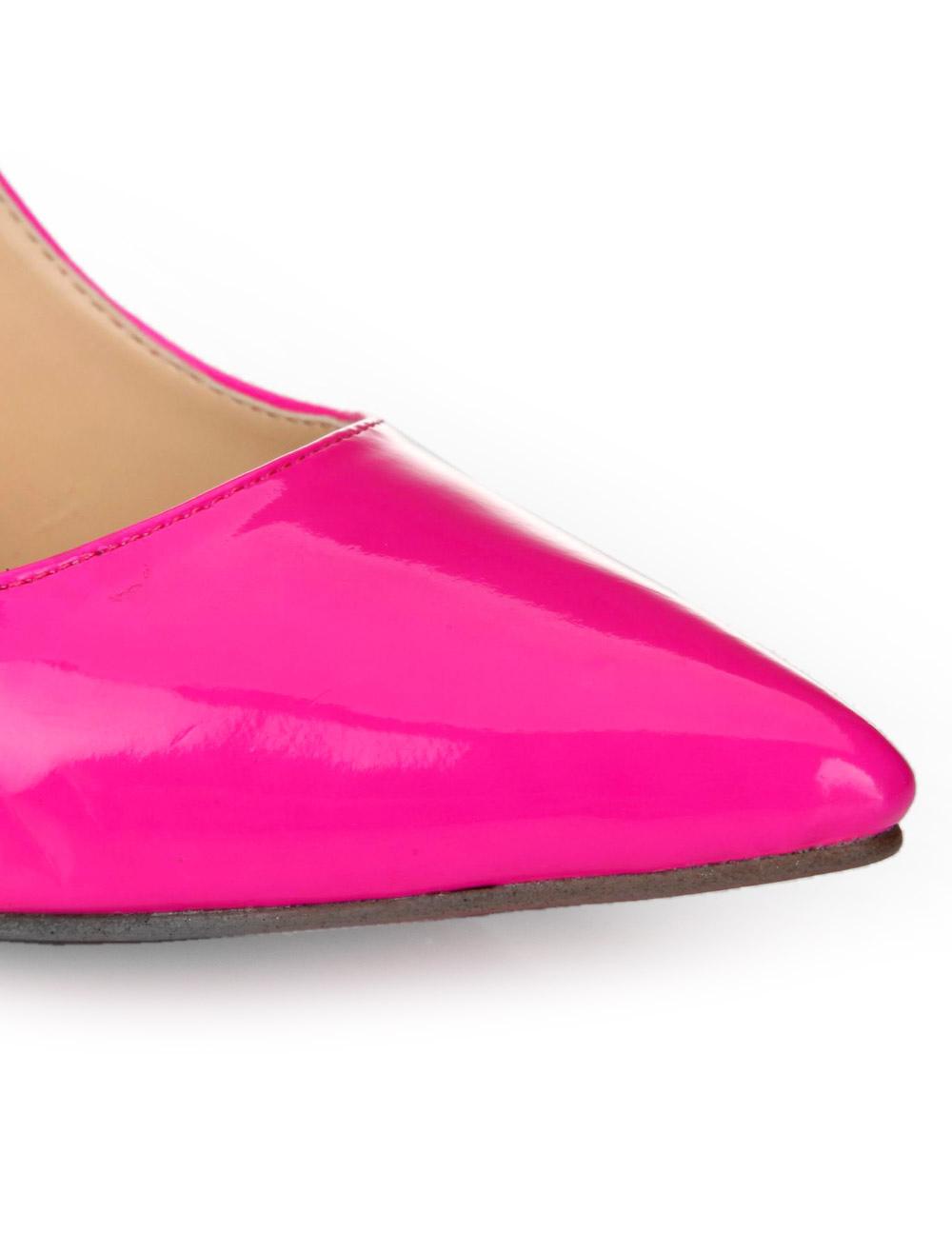 ... Negro Zapatos de Tacón Alto para Mujer 2019 Zapatos de Vestido con  Punta Puntiguada de Charol 67cb369a7bc1