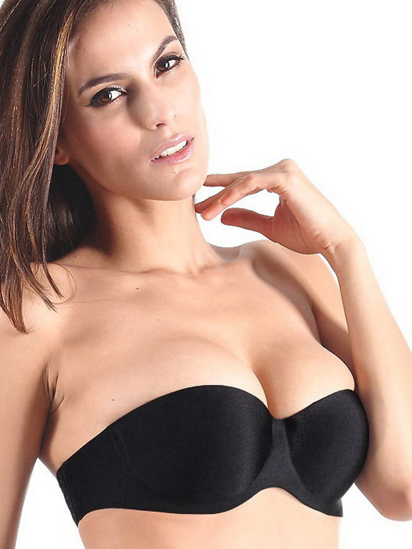 Polyester Enhanced Underwire Nubra With Back Buckle For Woman