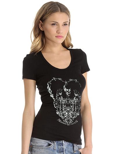 tee shirt femme moulant