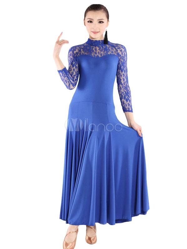 Pizzo moderni costumi delle donne oversize ballroom dance - Costumi da bagno oversize ...
