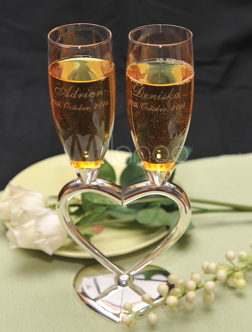 Wedding Toasting Flutes ( A Pair )