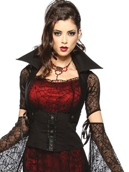gothique vampire halloween costume pour femme halloween. Black Bedroom Furniture Sets. Home Design Ideas