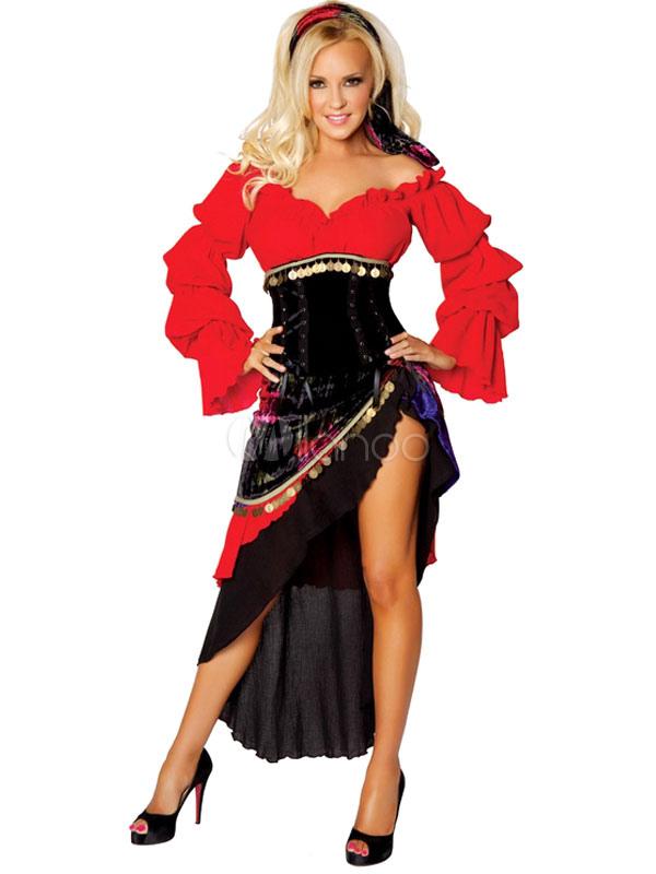 Costume di Carnevale donna ballerina spagnola - Milanoo.com