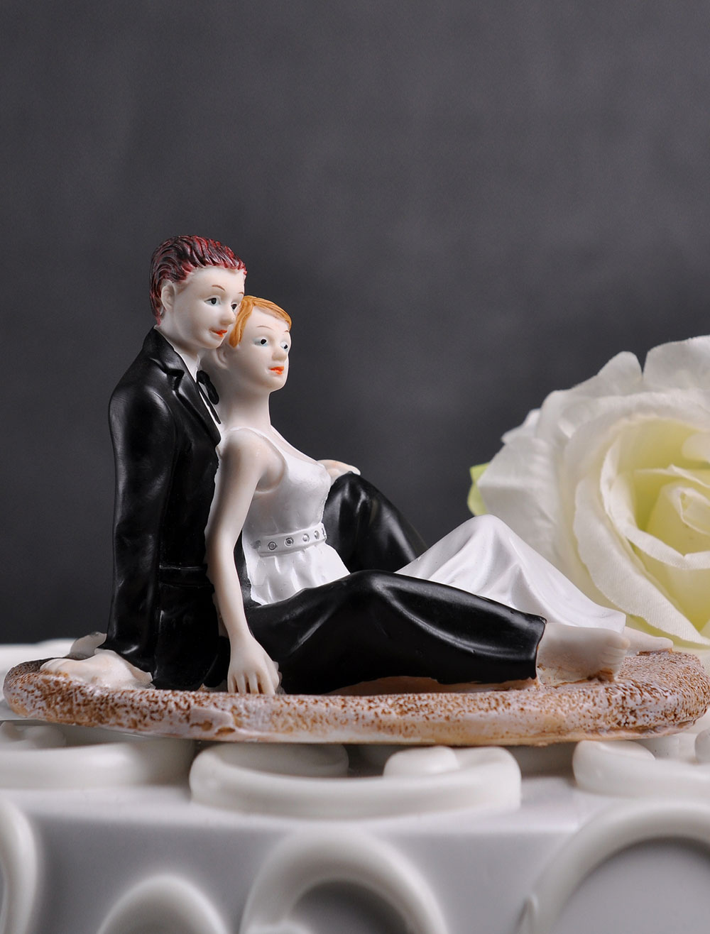 Couple Figurine Wedding Cake Topper