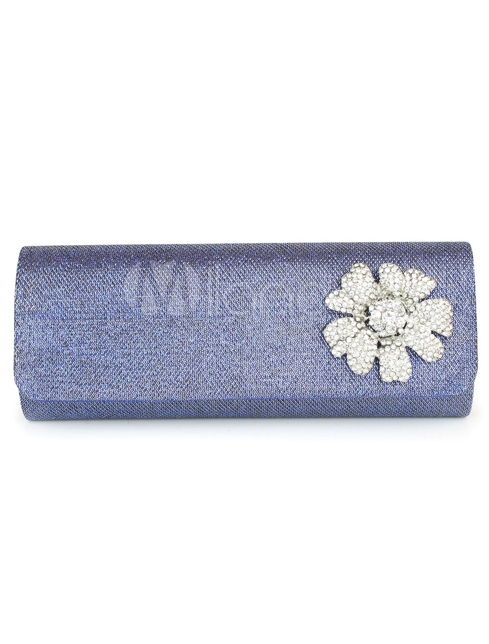 Buy Rhinestone Detailing Evening Bag with Flower Decor for $16.09 in Milanoo store
