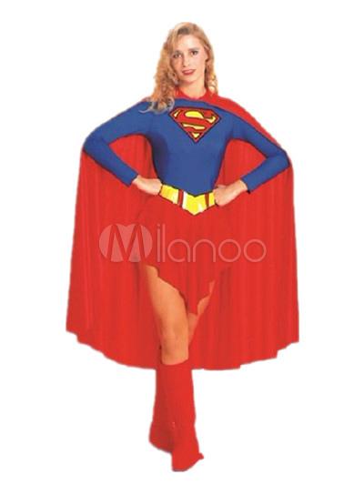 official photos ded20 37700 Superman Kostüm für Damen in Rot