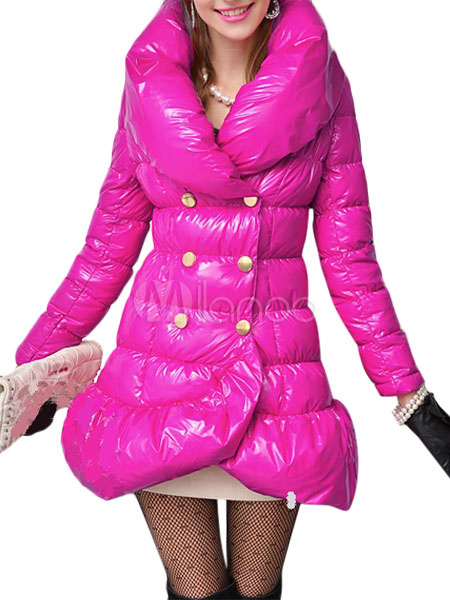 Pillow Collar Mermaid Down Coat Cheap clothes, free shipping worldwide