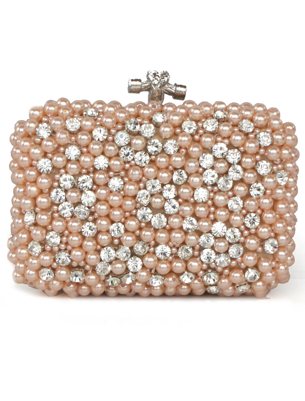 Pearl Beaded Evening Bag
